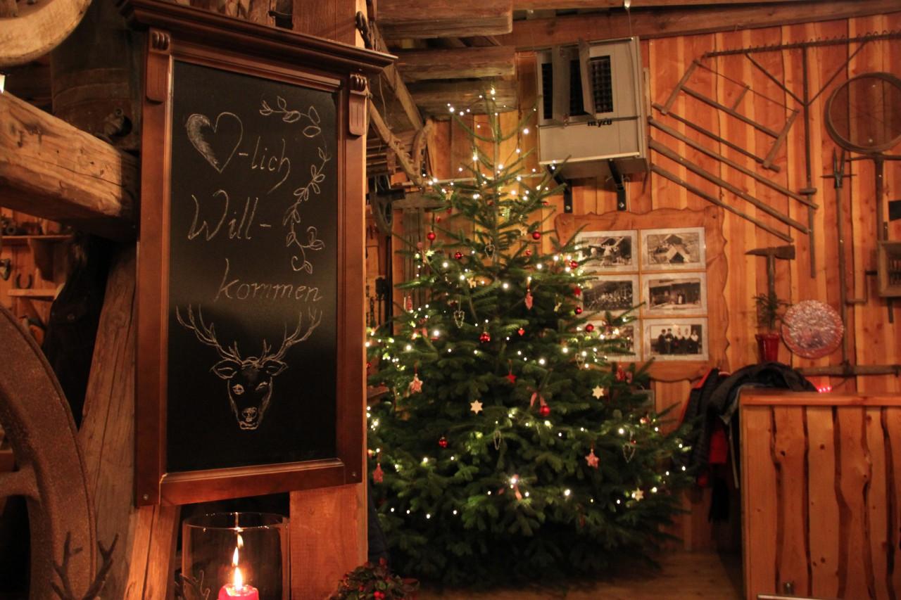 Unser Weihnachtsbaumverkauf 2015
